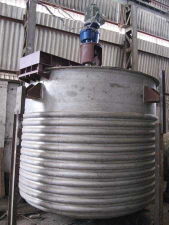 Jacketed Reactor Vessel Multiple Reactor System