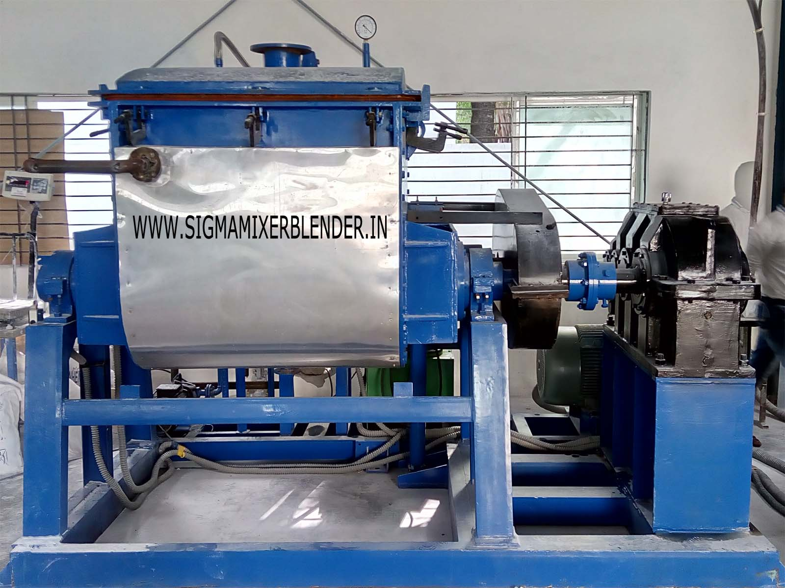 Double Sigma Arm Mixer Machine